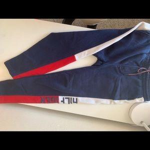 Navy Blue Tommy Hilfiger sweatpants